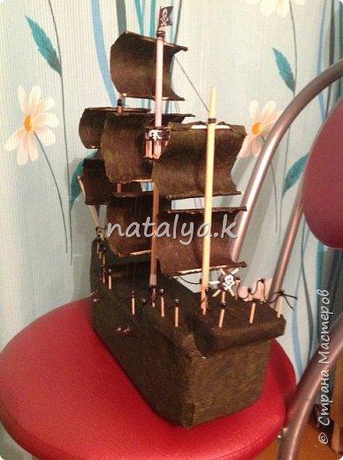 Пиратский корабль в подарок мальчику на день рождения фото 2