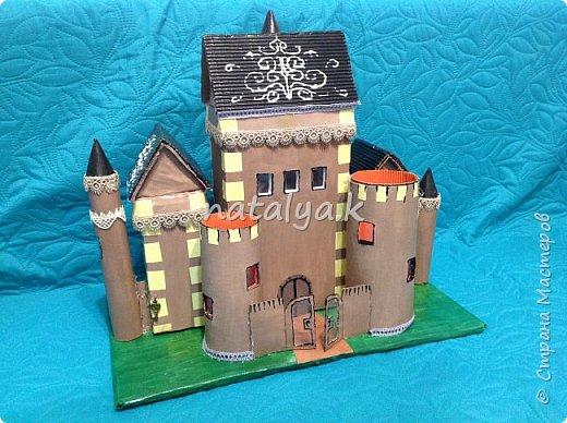 Модель замка в подарок  фото 1
