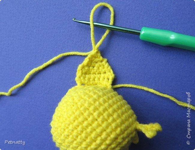 Хочу вам показать, как связать крючком свинку – символ следующего года. Вяжется свинка достаточно просто и быстро. фото 15