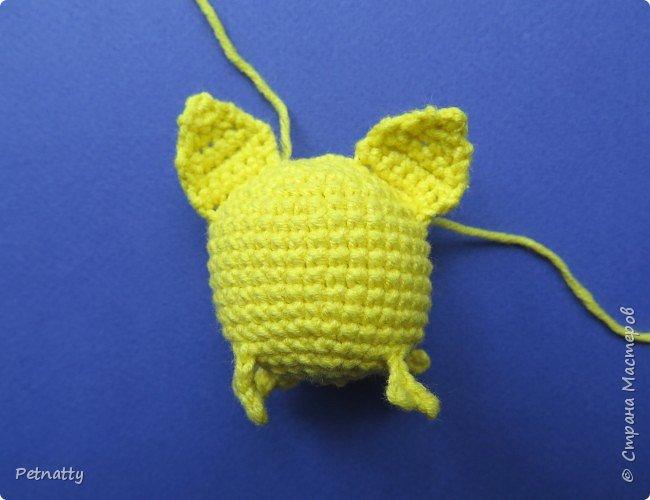 Хочу вам показать, как связать крючком свинку – символ следующего года. Вяжется свинка достаточно просто и быстро. фото 17