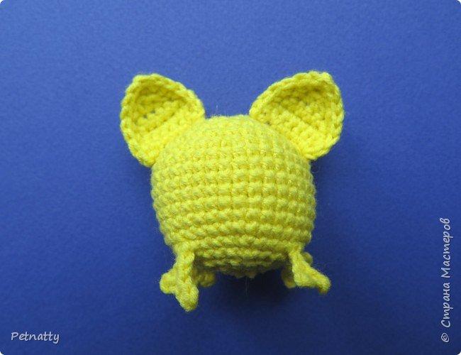 Хочу вам показать, как связать крючком свинку – символ следующего года. Вяжется свинка достаточно просто и быстро. фото 18