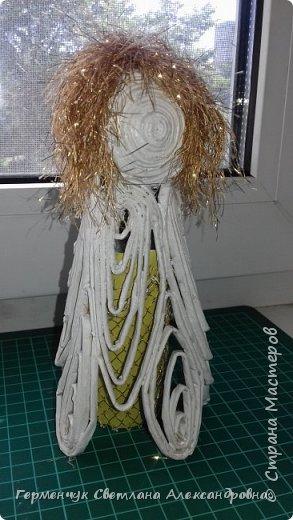 Жители СМ, добрый вечер!!!  Сегодня представляю вашему вниманию    мою первую  пробу  куколку -  ангела  фото 14