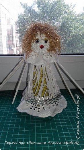 Жители СМ, добрый вечер!!!  Сегодня представляю вашему вниманию    мою первую  пробу  куколку -  ангела  фото 15