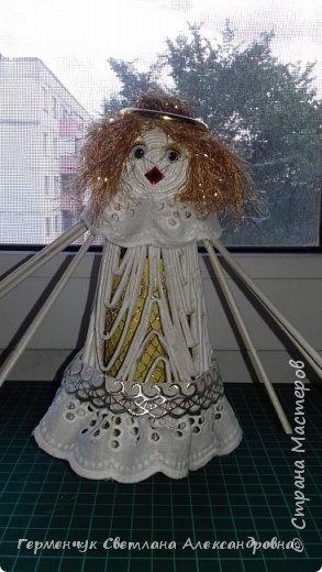 Жители СМ, добрый вечер!!!  Сегодня представляю вашему вниманию    мою первую  пробу  куколку -  ангела  фото 17