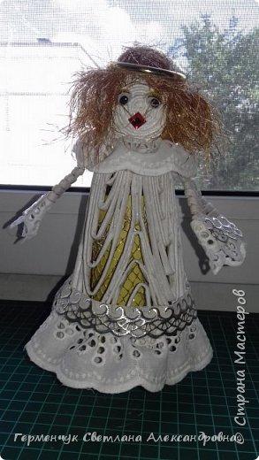 Жители СМ, добрый вечер!!!  Сегодня представляю вашему вниманию    мою первую  пробу  куколку -  ангела  фото 19