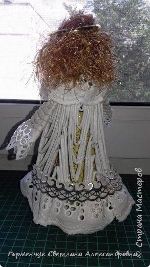 Жители СМ, добрый вечер!!!  Сегодня представляю вашему вниманию    мою первую  пробу  куколку -  ангела  фото 21