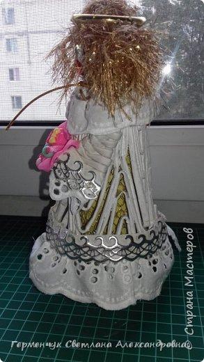 Жители СМ, добрый вечер!!!  Сегодня представляю вашему вниманию    мою первую  пробу  куколку -  ангела  фото 24
