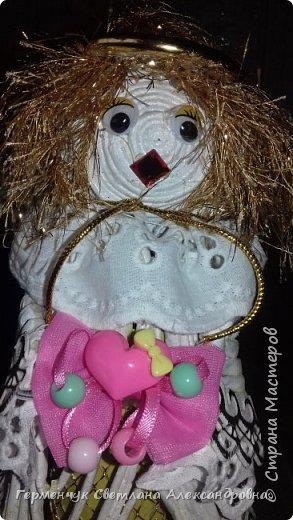 Жители СМ, добрый вечер!!!  Сегодня представляю вашему вниманию    мою первую  пробу  куколку -  ангела  фото 32