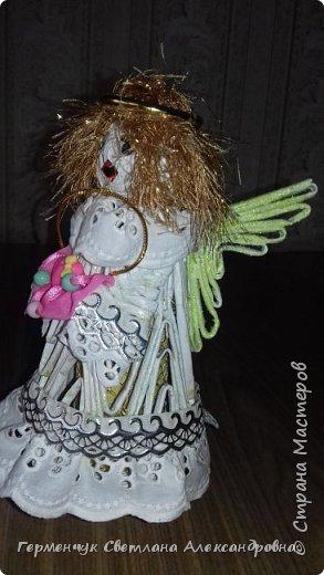 Жители СМ, добрый вечер!!!  Сегодня представляю вашему вниманию    мою первую  пробу  куколку -  ангела  фото 36