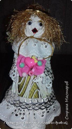 Жители СМ, добрый вечер!!!  Сегодня представляю вашему вниманию    мою первую  пробу  куколку -  ангела  фото 37
