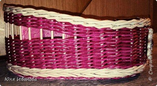 Сплелась у меня вот такая коробочка-косметичка подруге на день рождение. фото 5