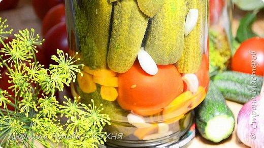 АССОРТИ НА ЗИМУ. Маринованные огурцы с помидорами – Настоящее ЛЕТО В БАНКЕ фото 2