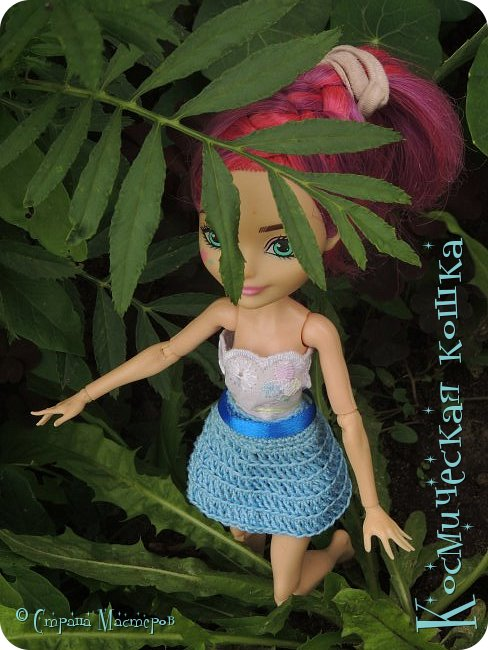 Всем привет! Вот и подоспела 2 часть. Я сделала новою одежду для куклы, и новою прическу. в общем, смотрите и вдохновляйтесь! фото 2
