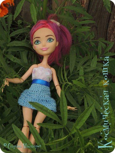 Всем привет! Вот и подоспела 2 часть. Я сделала новою одежду для куклы, и новою прическу. в общем, смотрите и вдохновляйтесь! фото 3