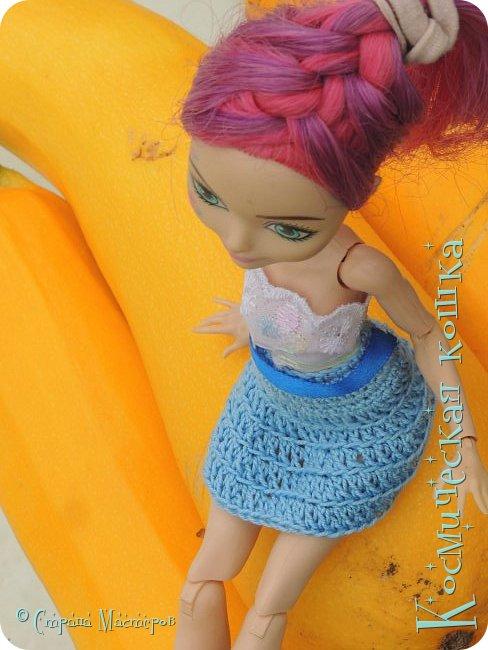 Всем привет! Вот и подоспела 2 часть. Я сделала новою одежду для куклы, и новою прическу. в общем, смотрите и вдохновляйтесь! фото 6
