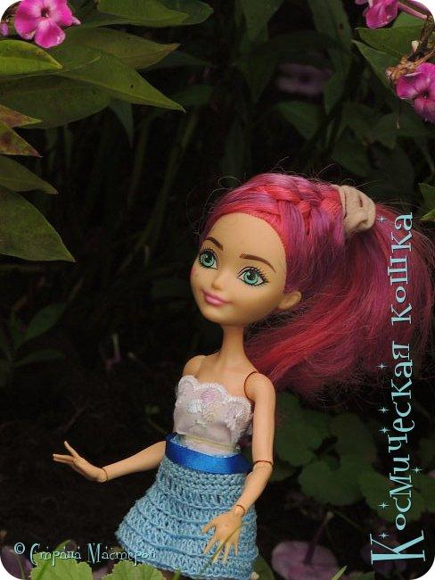 Всем привет! Вот и подоспела 2 часть. Я сделала новою одежду для куклы, и новою прическу. в общем, смотрите и вдохновляйтесь! фото 7