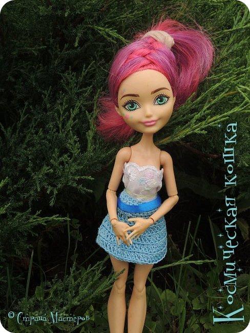 Всем привет! Вот и подоспела 2 часть. Я сделала новою одежду для куклы, и новою прическу. в общем, смотрите и вдохновляйтесь! фото 10