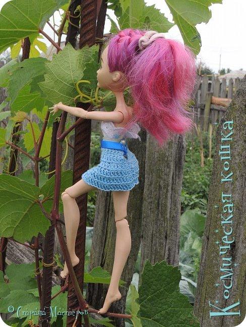 Всем привет! Вот и подоспела 2 часть. Я сделала новою одежду для куклы, и новою прическу. в общем, смотрите и вдохновляйтесь! фото 11