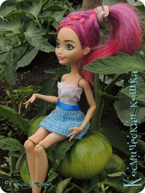Всем привет! Вот и подоспела 2 часть. Я сделала новою одежду для куклы, и новою прическу. в общем, смотрите и вдохновляйтесь! фото 13