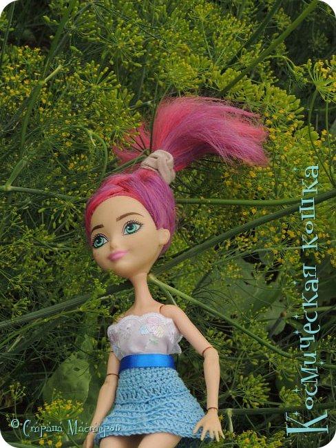 Всем привет! Вот и подоспела 2 часть. Я сделала новою одежду для куклы, и новою прическу. в общем, смотрите и вдохновляйтесь! фото 14