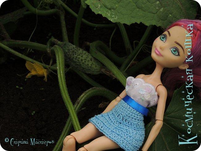 Всем привет! Вот и подоспела 2 часть. Я сделала новою одежду для куклы, и новою прическу. в общем, смотрите и вдохновляйтесь! фото 15