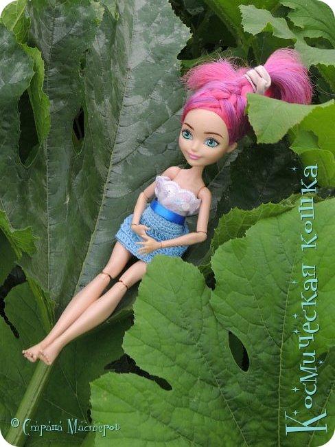 Всем привет! Вот и подоспела 2 часть. Я сделала новою одежду для куклы, и новою прическу. в общем, смотрите и вдохновляйтесь! фото 17