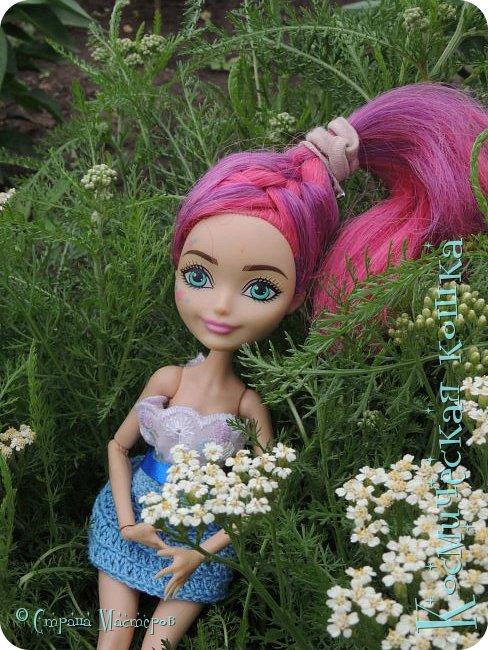Всем привет! Вот и подоспела 2 часть. Я сделала новою одежду для куклы, и новою прическу. в общем, смотрите и вдохновляйтесь! фото 18