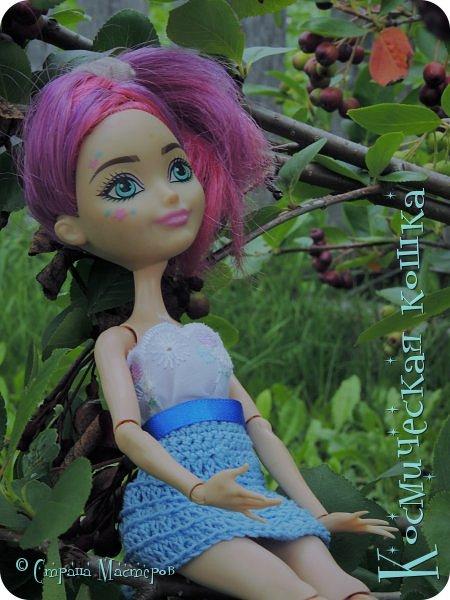 Всем привет! Вот и подоспела 2 часть. Я сделала новою одежду для куклы, и новою прическу. в общем, смотрите и вдохновляйтесь! фото 22