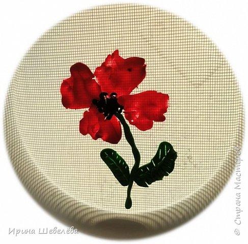 Приветствую всех, кто зашёл ко мне на страничку. Этим летом нам с внучкой Алисой (4,5 лет) пришла идея рисовать пластилином цветы. Решили освоить технику пластилиновой живописи. фото 4