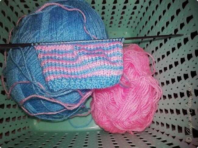 Связала свитерок для пухлика Доминики  фото 2