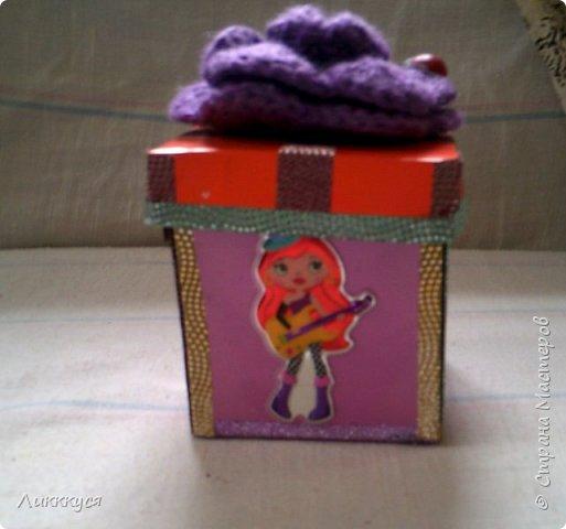 коробочка-сюрприз фото 1