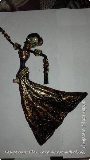 Добрый день  СМ!!!     На просторах интернета увидела  поделку -танцующие  девушки .    Мне понравилась такая  поделка , и я решила  изменить  и сделать шкатулку -  с танцующими  девушками . Девушкам  добавила украшения  в стиле стимпанк и   украсила коробочку   фото 14