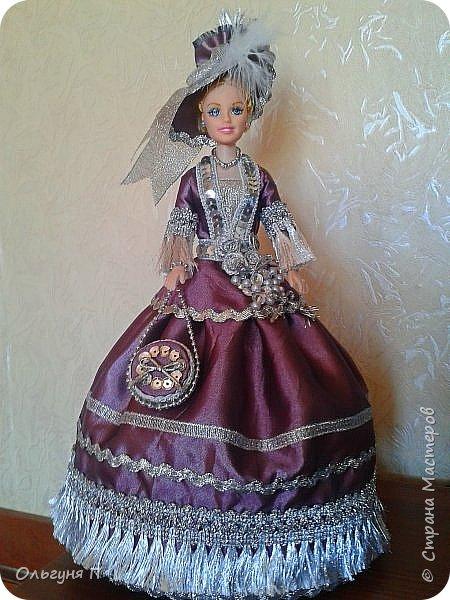 """Добрый день, дорогие соседи! Заказали мне куклу-шкатулку """"Какую-нибудь барышню в шляпе""""...Не люблю я этих """"барышень"""" делать,но...с заказчиком не поспоришь....Вот что получилось... фото 1"""
