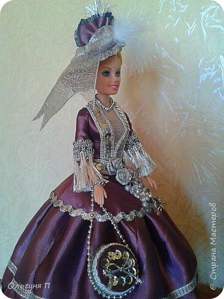 """Добрый день, дорогие соседи! Заказали мне куклу-шкатулку """"Какую-нибудь барышню в шляпе""""...Не люблю я этих """"барышень"""" делать,но...с заказчиком не поспоришь....Вот что получилось... фото 4"""