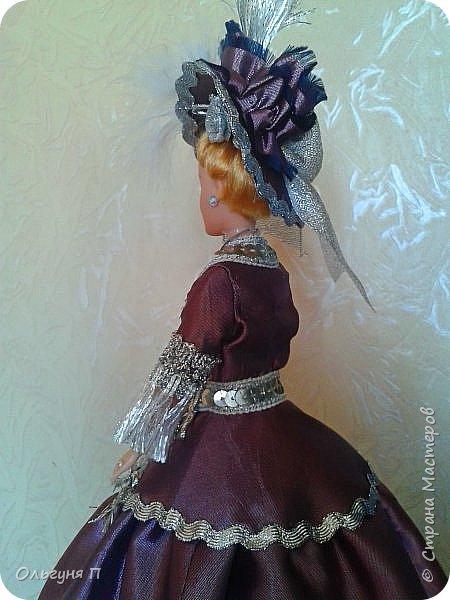 """Добрый день, дорогие соседи! Заказали мне куклу-шкатулку """"Какую-нибудь барышню в шляпе""""...Не люблю я этих """"барышень"""" делать,но...с заказчиком не поспоришь....Вот что получилось... фото 6"""