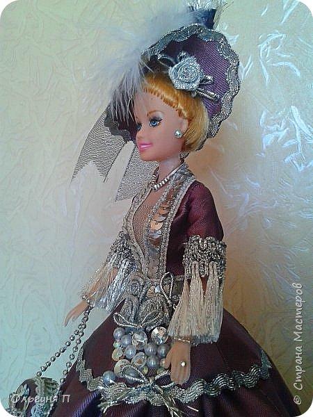 """Добрый день, дорогие соседи! Заказали мне куклу-шкатулку """"Какую-нибудь барышню в шляпе""""...Не люблю я этих """"барышень"""" делать,но...с заказчиком не поспоришь....Вот что получилось... фото 7"""