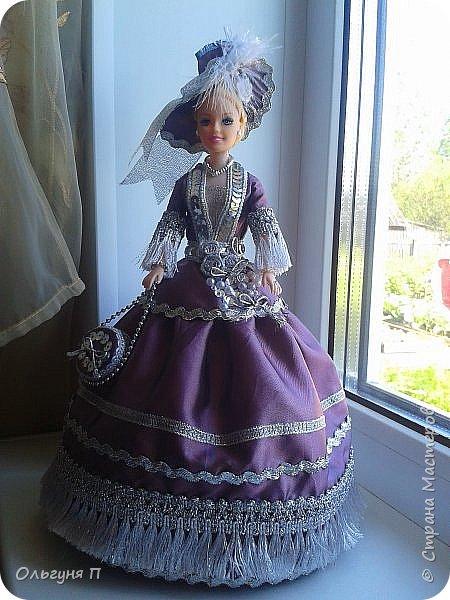 """Добрый день, дорогие соседи! Заказали мне куклу-шкатулку """"Какую-нибудь барышню в шляпе""""...Не люблю я этих """"барышень"""" делать,но...с заказчиком не поспоришь....Вот что получилось... фото 10"""