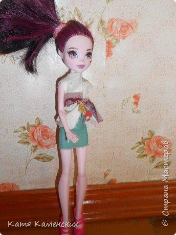 Привет Страна мастеров!!!!!!! Вот сшила костюмчик для своей куколки! Ну как? фото 1