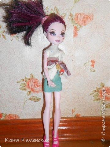Привет Страна мастеров!!!!!!! Вот сшила костюмчик для своей куколки! Ну как? фото 2