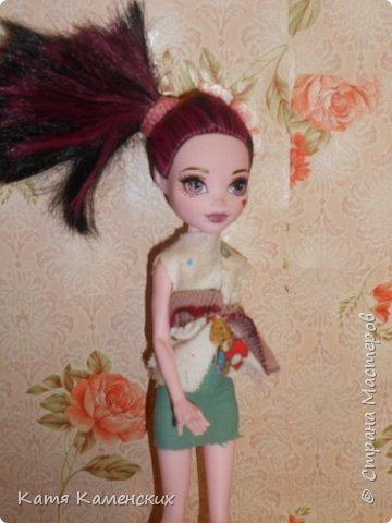 Привет Страна мастеров!!!!!!! Вот сшила костюмчик для своей куколки! Ну как? фото 3