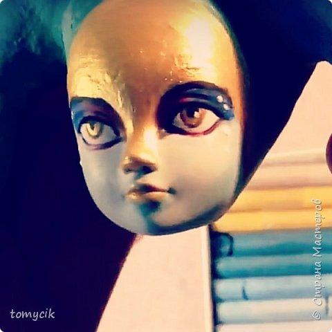 Кастом куклы ООАК Нага Сирена персонаж фото 2