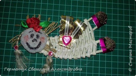 Всем добрый день !!!  Предлагаю вашему вниманию   плетеных из  трубочек бумажных  куколок  ангелочков !!! фото 5