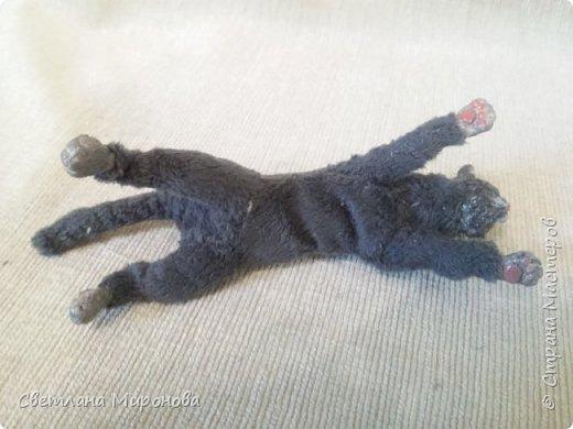 Кот в смешанной технике фото 6