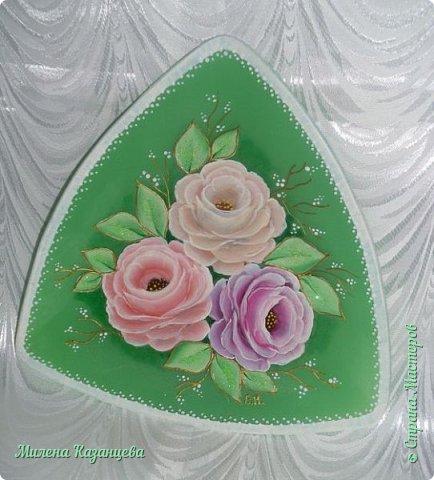 Роспись по стеклу и керамике фото 5