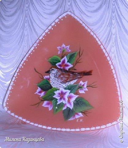 Роспись по стеклу и керамике фото 6