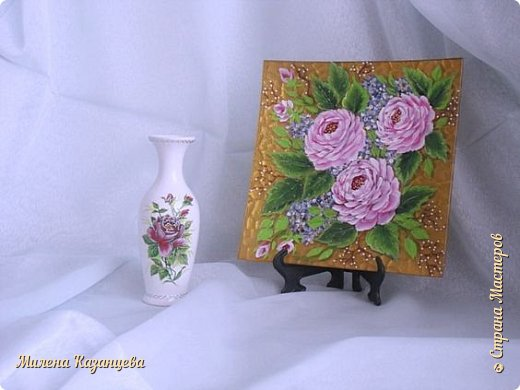 Роспись по стеклу и керамике фото 3
