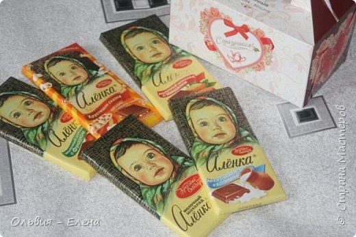и снова я!!! вот такая шоколадница у меня получилась!!! основывалась на ленточке из посылки Лены фото 16