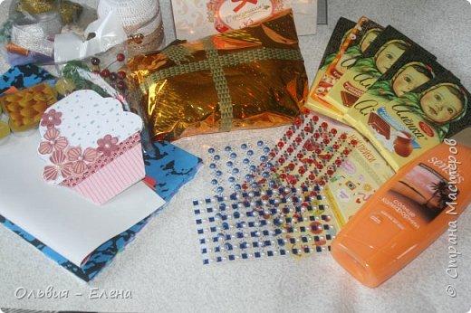 и снова я!!! вот такая шоколадница у меня получилась!!! основывалась на ленточке из посылки Лены фото 3
