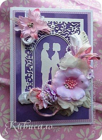 Открытка на свадьбу  фото 5