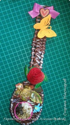 Добрый день ,всем жителям СМ  !!!  Сегодня предлагаю посмотреть   ложки  для  племянника   ( сувенир  к подарку  на день рождения)  фото 11